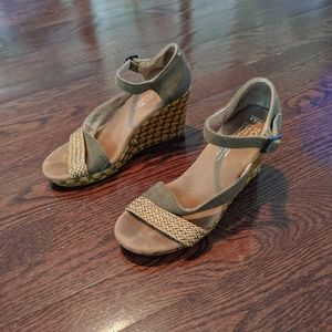 Toms wedges size:w6.5